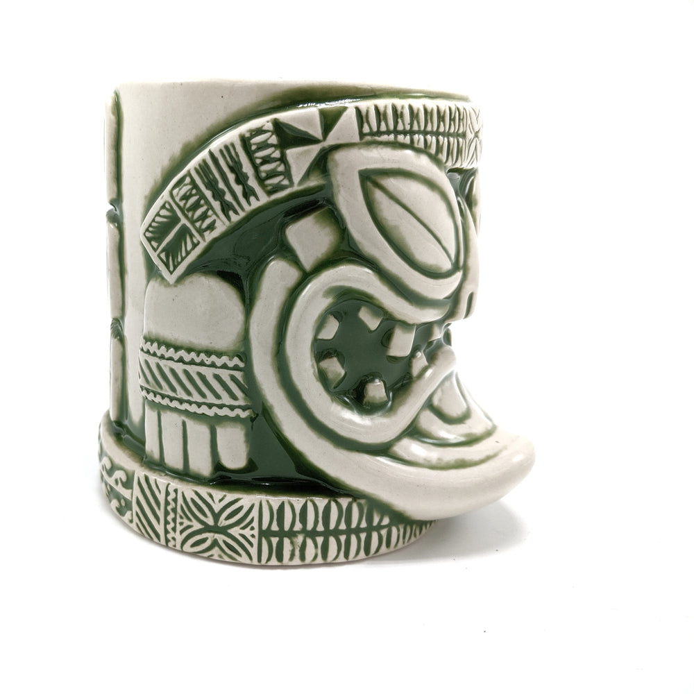 Load image into Gallery viewer, Green Santiki Tiki Mug