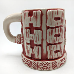 Load image into Gallery viewer, Red Santiki Tiki Mug