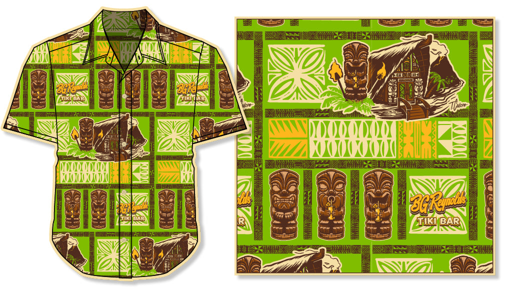 BG Reynolds Hawaiian Shirt