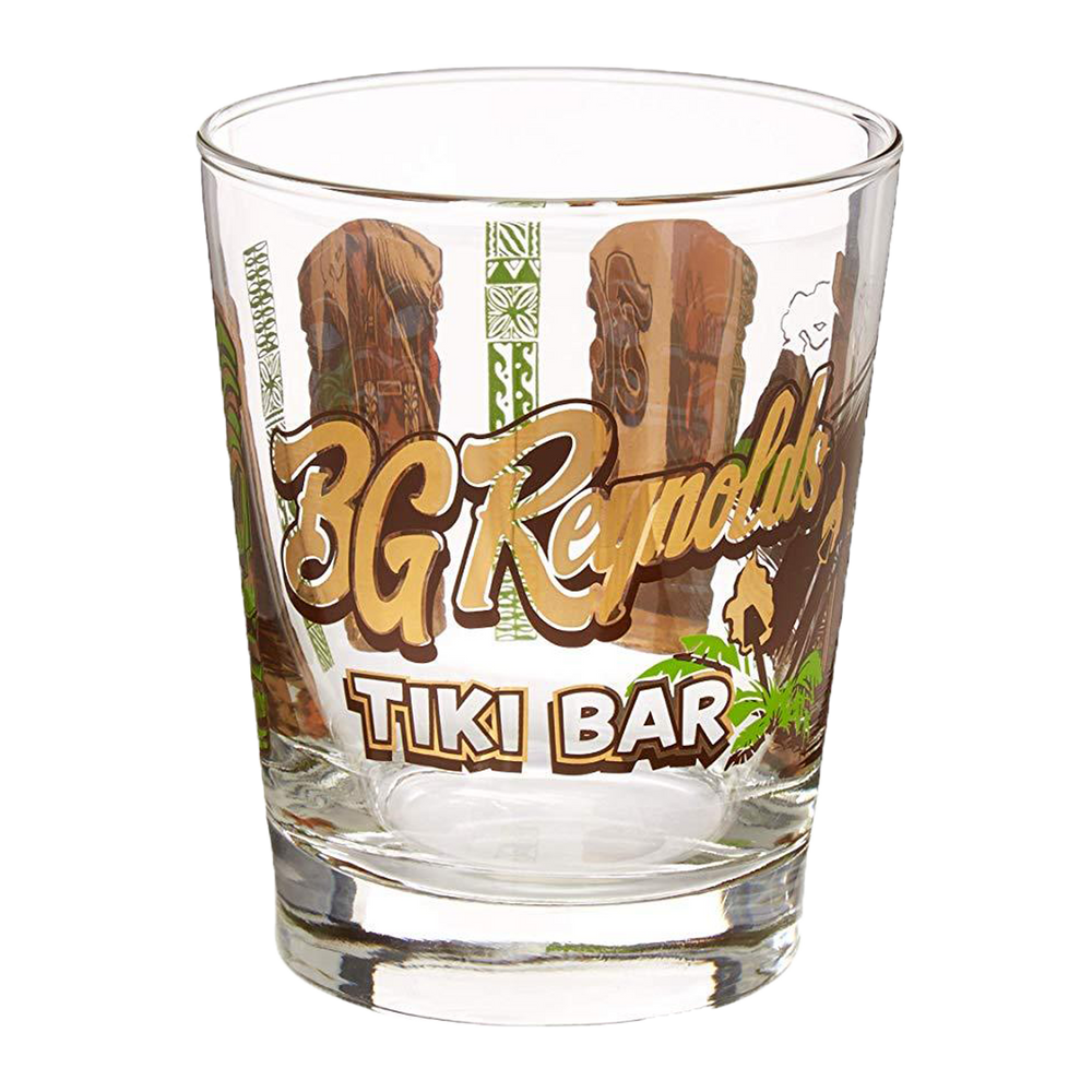 BG Reynolds Tiki Bar Mai Tai Glass