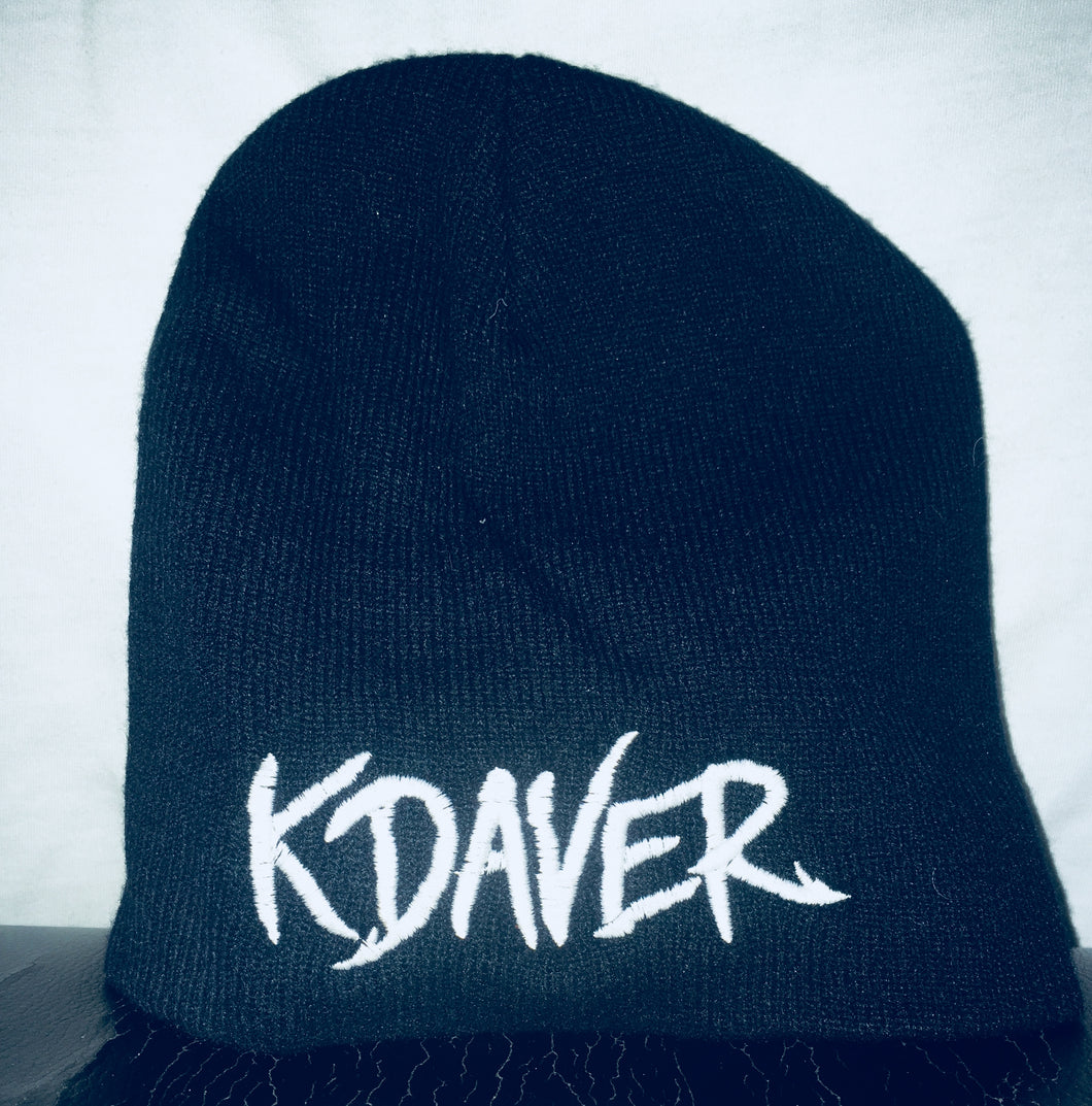 KDAVER -Embroidered Beanie
