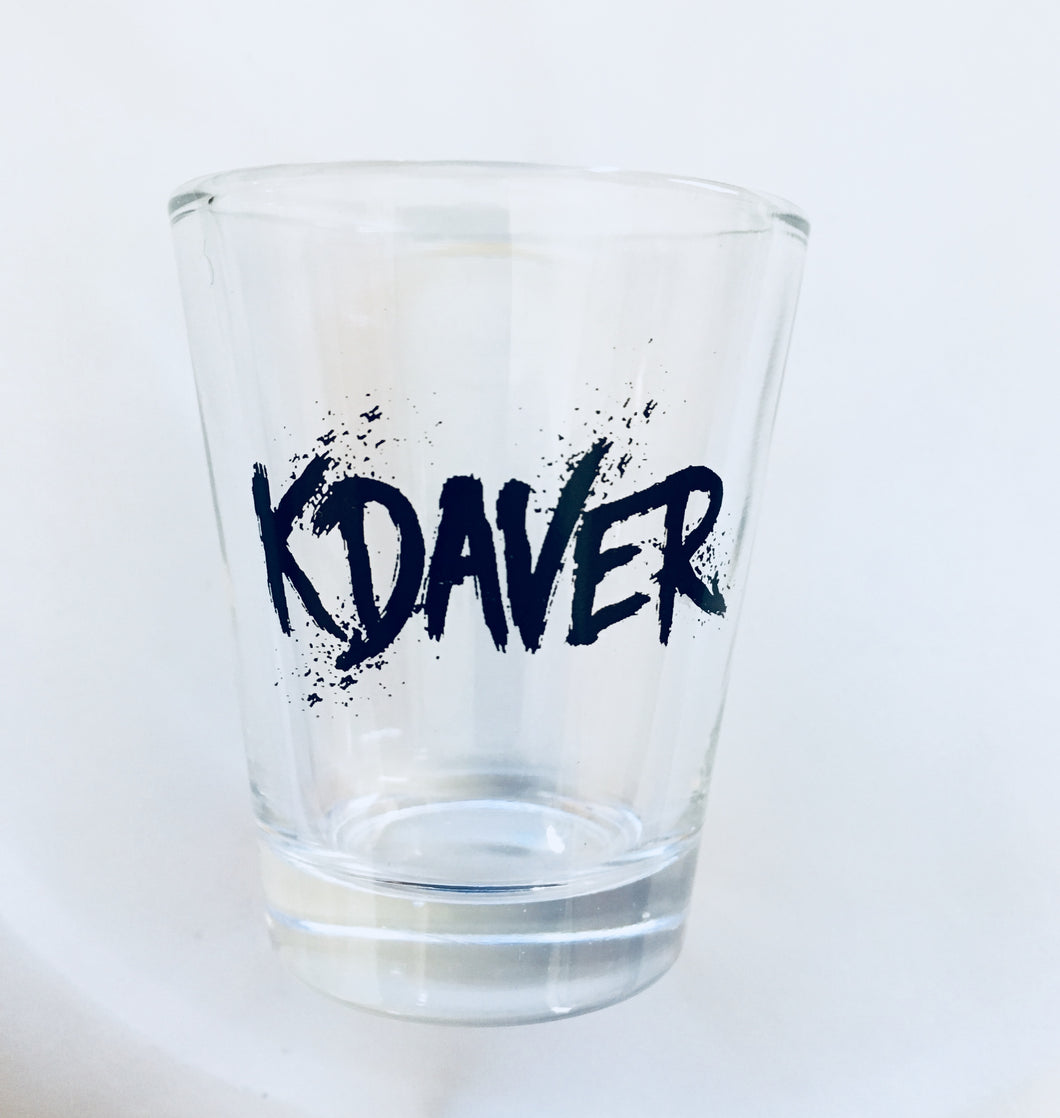KDAVER - Shot Glass