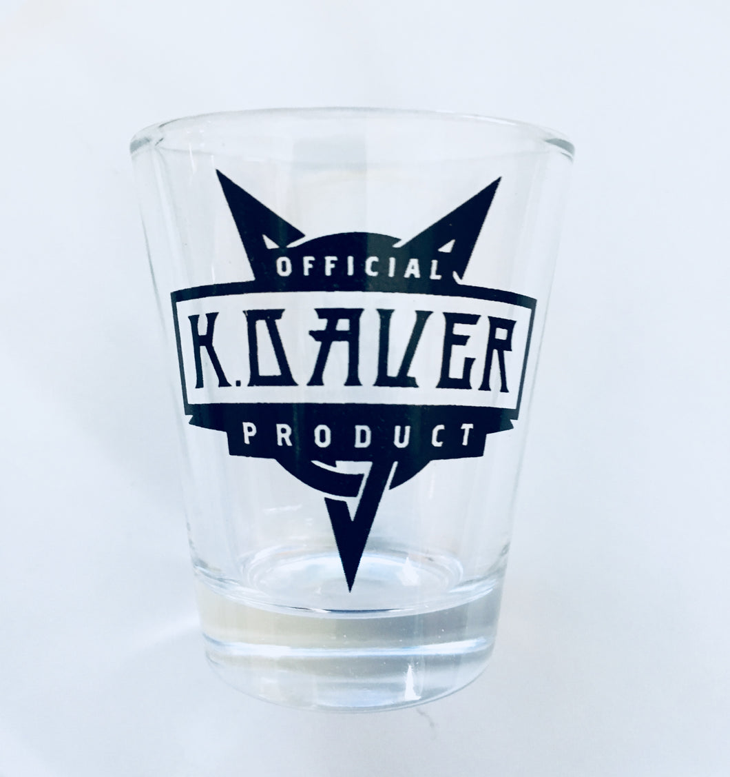 OFFICIAL KDAVER PRODUCT - Shot Glass