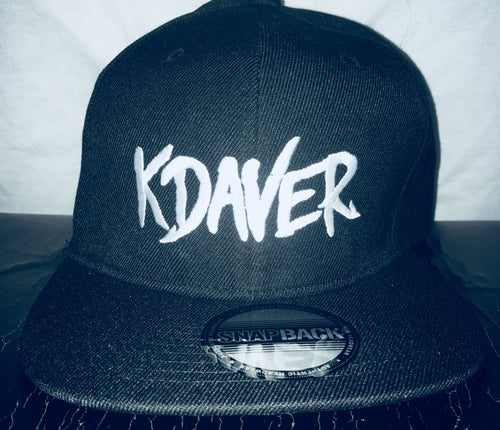 KDAVER - Embroidered Snapback