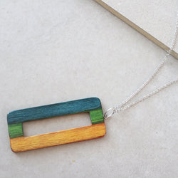 handmade wood necklaces