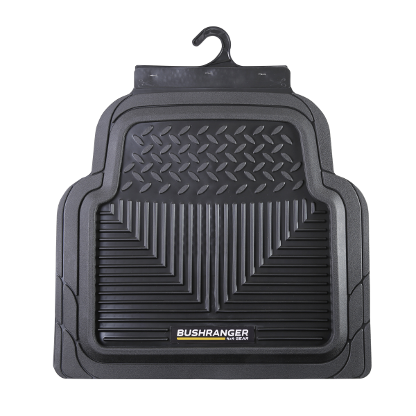 Bushranger Tamer Floor Mat - Rear (Black) Pair