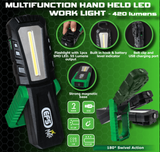 EFS MULTI FUNCTION HAND-HELD LED WORK LIGHT