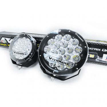 "EFS Vivid Max Driving Light 9"" Round 180W (1 unit)"