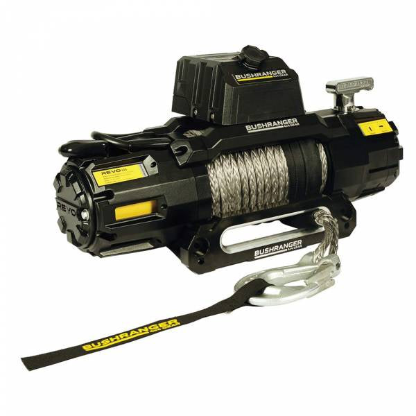 Bushranger REVO Winch 10,000lb Synthetic Rope