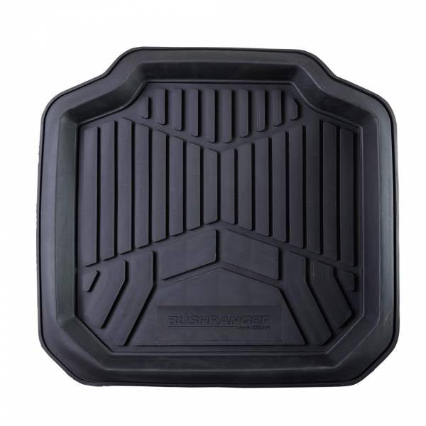Bushranger Dirt Blocka Floor Mat - Rear (Black) EACH