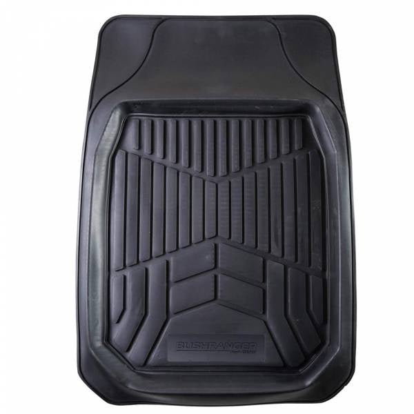 Bushranger Dirt Blocka Floor Mat - Front (Black) EACH