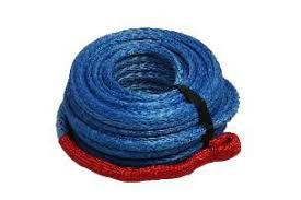 Synthetic Winch Rope Blue - 10mm x 30mtr