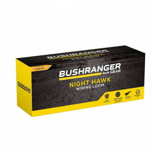 Bushranger Wiring Loom | 260w | Deutsch Plugs