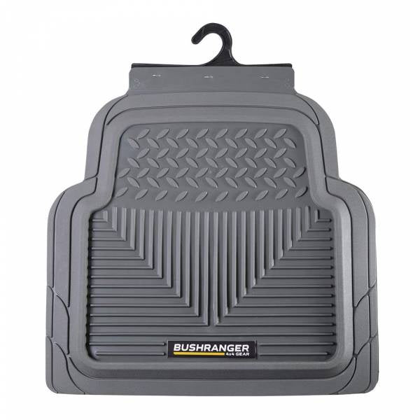 Bushranger Tamer Floor Mat - Rear (Charcoal) Pair
