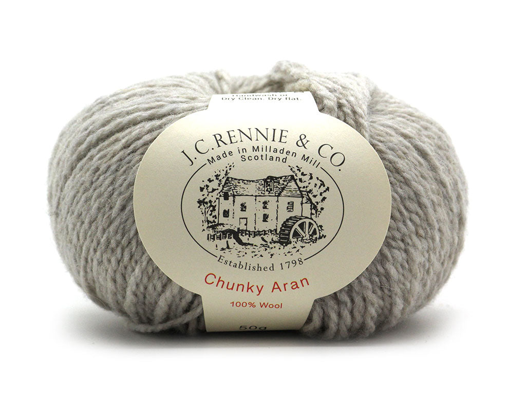 Chunky Aran - Putty 221