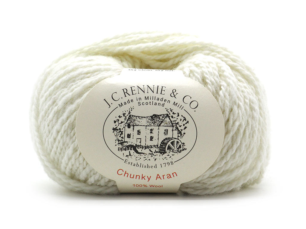 Chunky Aran - Winter White 200