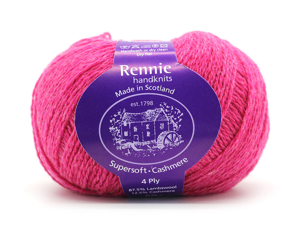 Supersoft Cashmere 4ply - Carnation 045