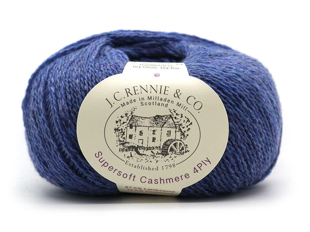 Supersoft Cashmere 4ply - Electra 027