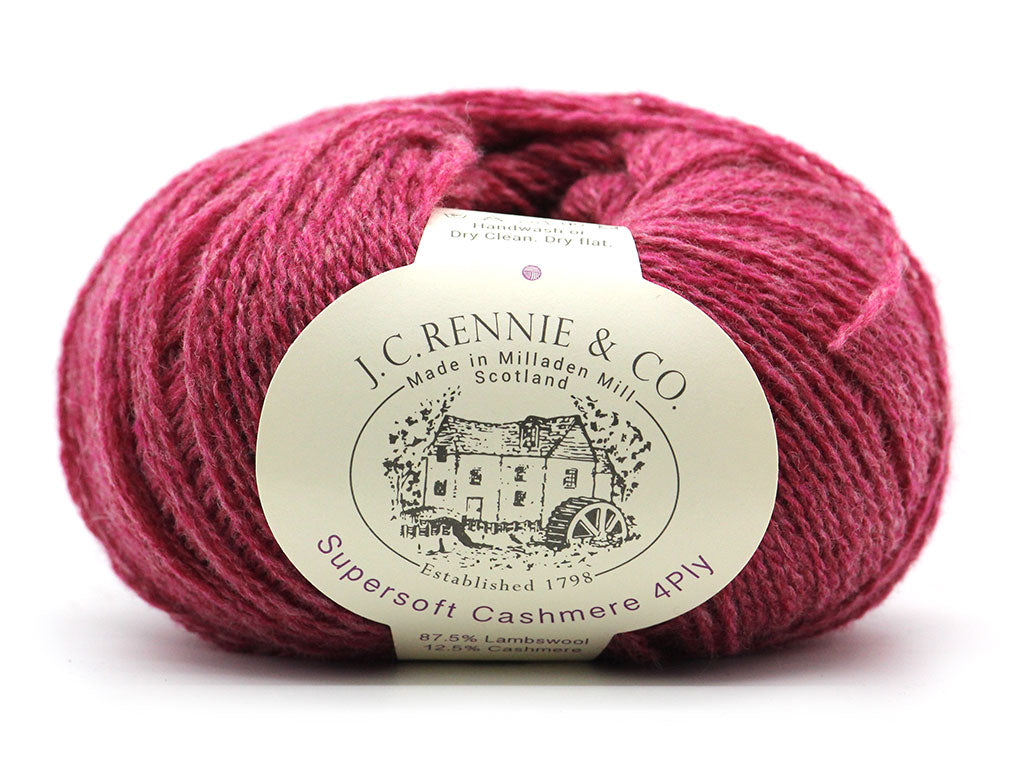 Supersoft Cashmere 4ply - Magenta Sky 155