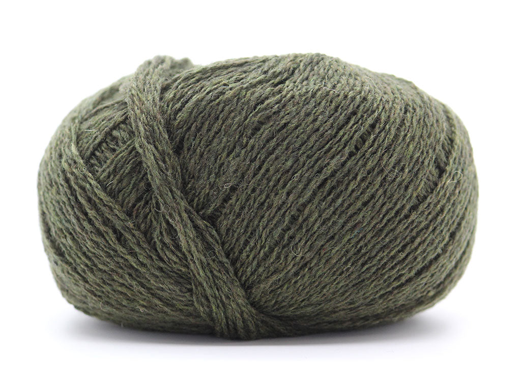 Supersoft Cashmere 4ply - Olive Heather 1177