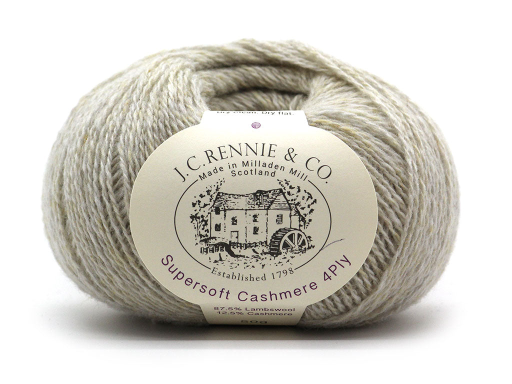 Supersoft Cashmere 4ply - Porridge 147