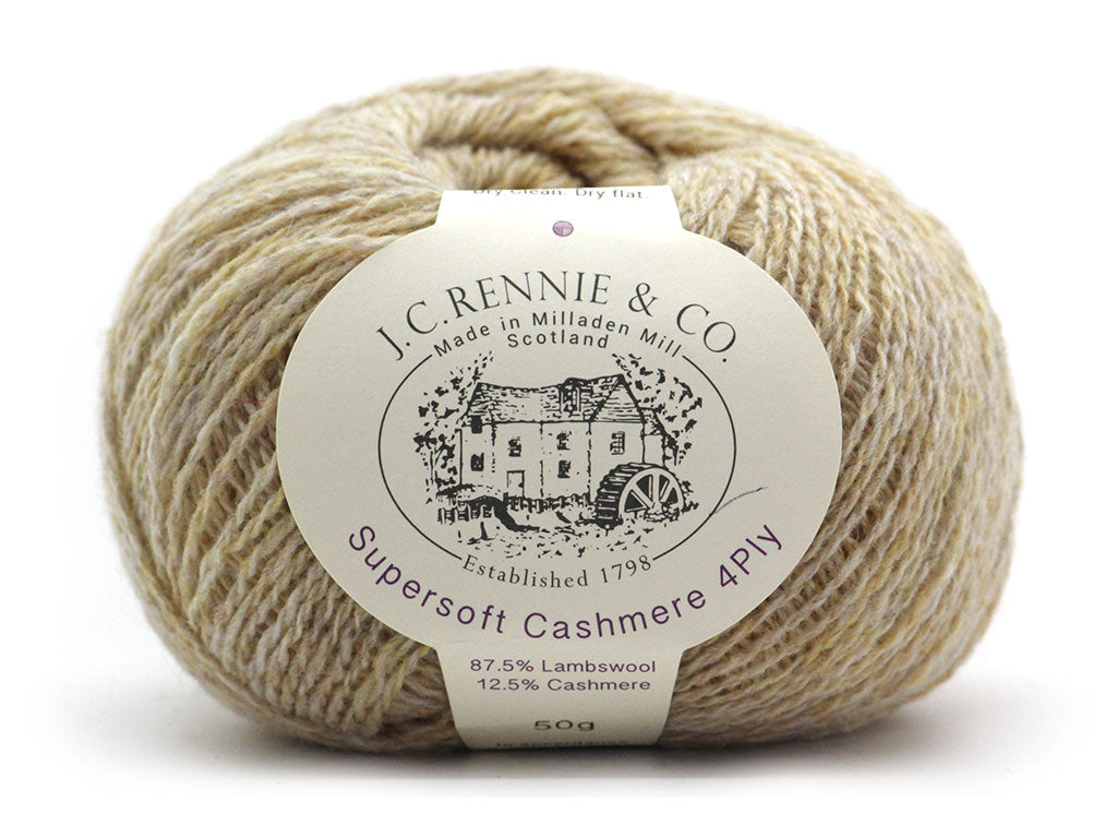 Supersoft Cashmere 4ply - Tusk 102
