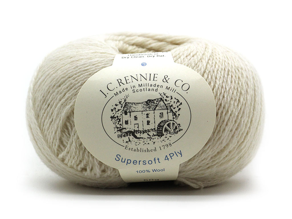 Supersoft 4ply - Cream 412