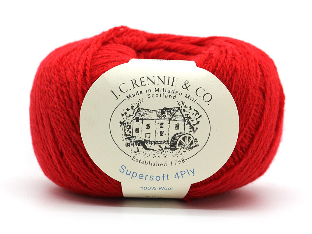 Supersoft 4ply - Crimson 144