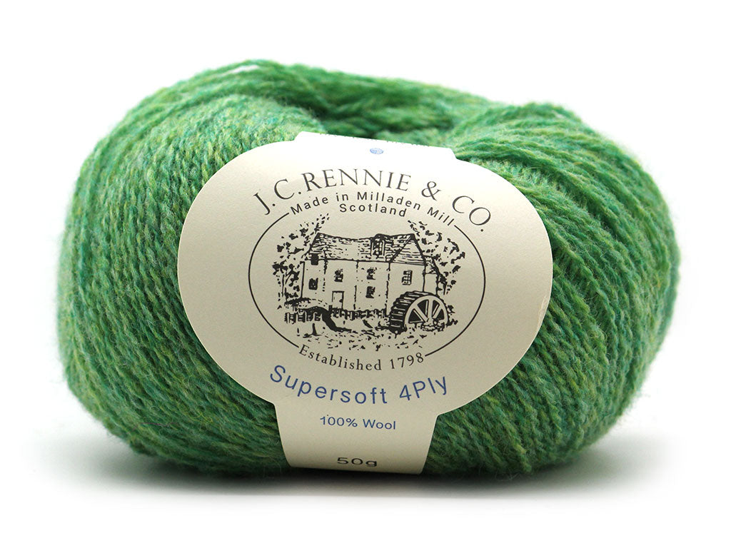Supersoft 4ply - Mint La 1380