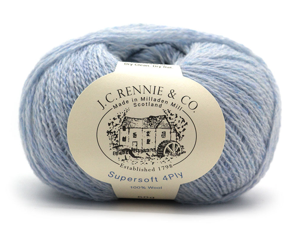 Supersoft 4ply - Powder Blue 1415
