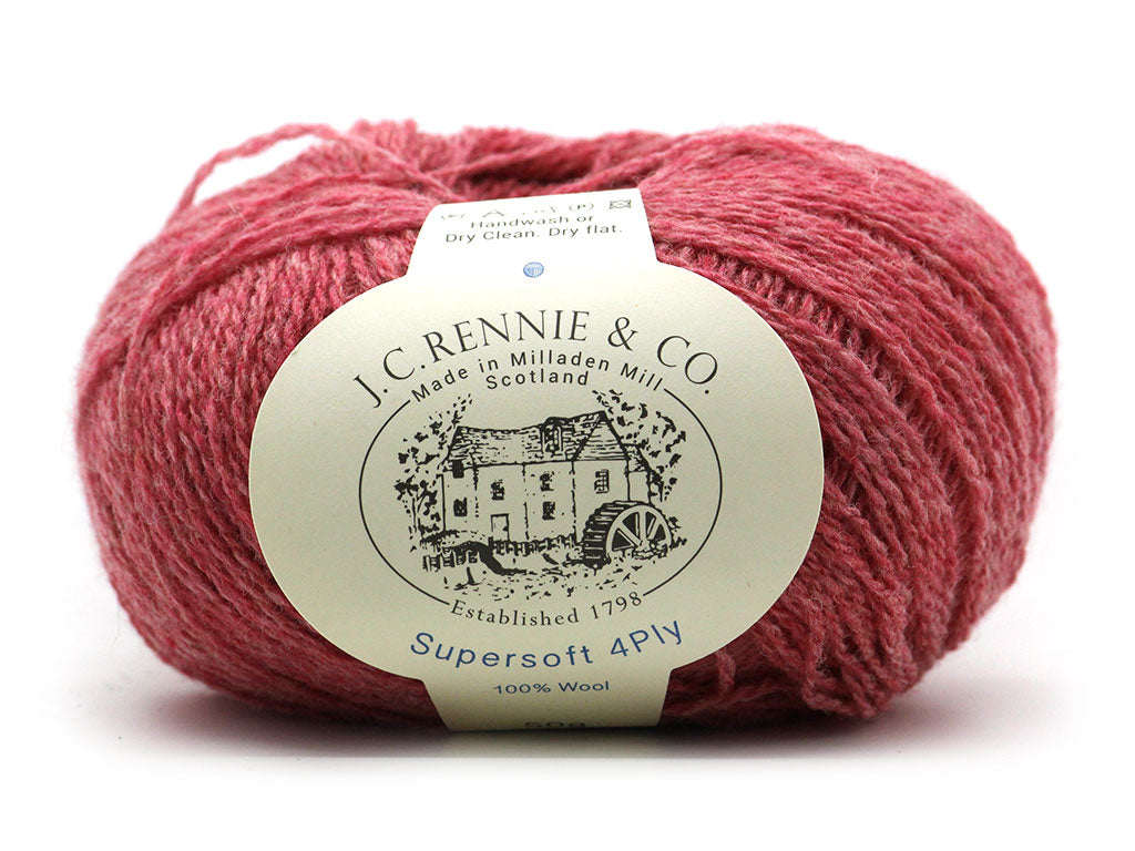 Supersoft 4ply - Rosebud 340