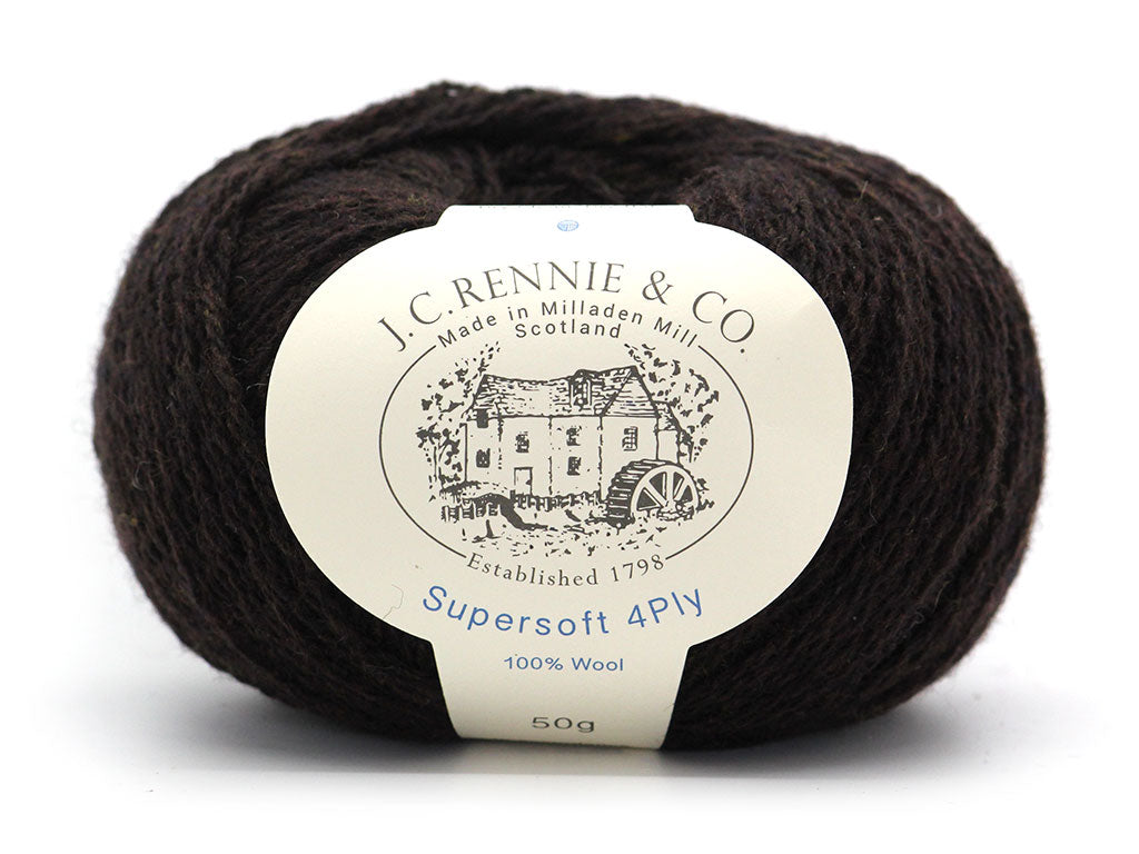 Supersoft 4ply - Truffle 1009