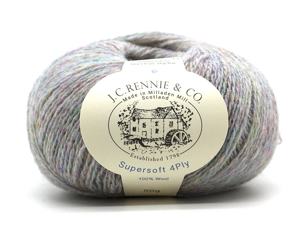 Supersoft 4ply - Ugie Pearl 1060