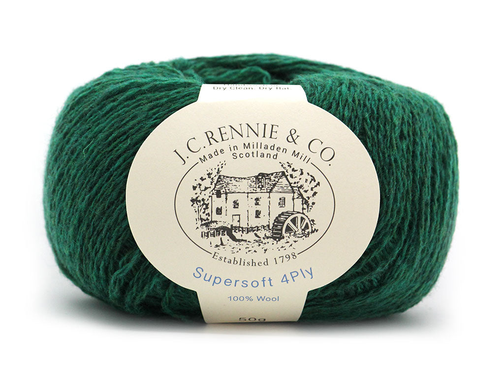Supersoft 4ply - Vintage Green 1194