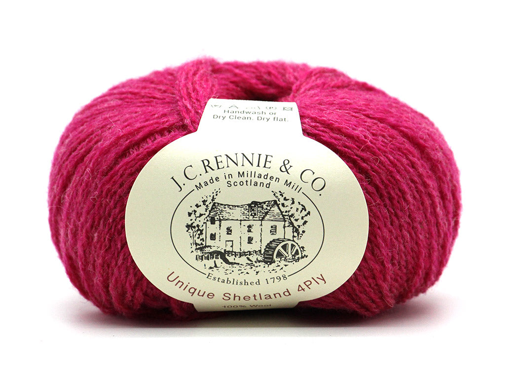Unique Shetland 4ply - Carnation 1424