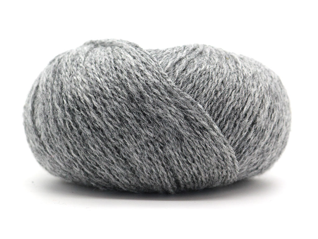 Unique Shetland 4ply - Medium Grey 030