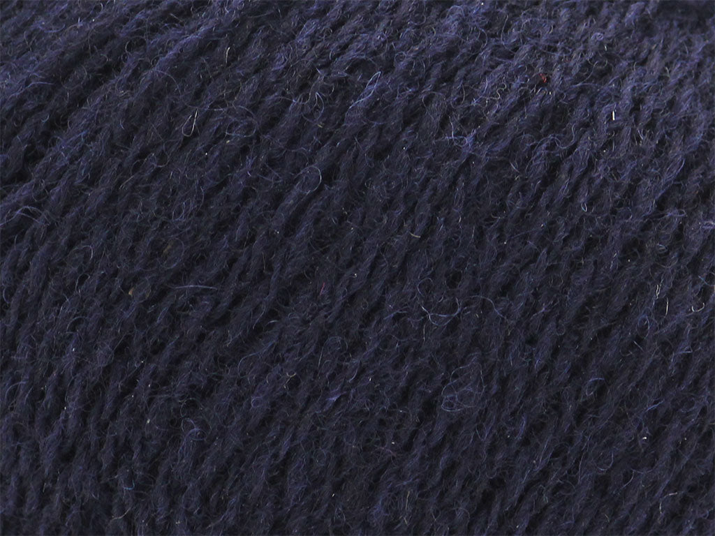 Unique Shetland 4ply -  New Navy 183