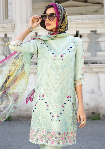 02 PATEL FLORENT - XENIA Formals - Carnation - Ladies Readymade 3 piece Pakistani Designer Suit - Online - UK - Memsaab Online