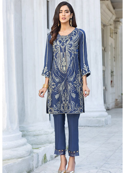 03 SERENA - XENIA Formals - Carnation - Ladies Readymade 2 piece Pakistani Designer Suit - Online - UK - Memsaab Online