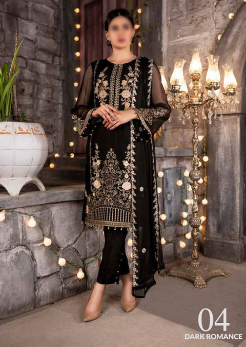 SMR04 - Dark Romance - Readymade - Simran Collection by Vol 5 2020 - Memsaab Online