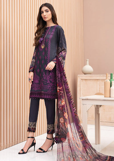 04 Lunara - Iris Embroidered Lawn Collection Vol 2 by Jazmin - Memsaab Online