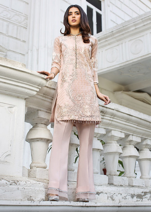 04 ALL ABOUT EVE - XENIA Formals - Carnation - Ladies Readymade 2 piece Pakistani Designer Suit - Online - UK - Memsaab Online