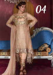 04 Sweet Honey Dew - Peach - Sofia Khas - Readymade Pakistani designer suit - UK Delivery - Memsaab Online