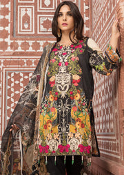 05 A - Emaan Eshaal - Luxury Festive Lawn 2019 - Unstitched - Embroidered designer lawn suits original - Memsaab Online