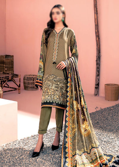 07 - Dusky Hues - Farasha Linen Collection 2020 by Bilal Silk - Memsaab Online