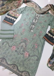 08 Mirel - Iris Readymade Embroidered Lawn Collection Vol 2 by Jazmin - Memsaab Online