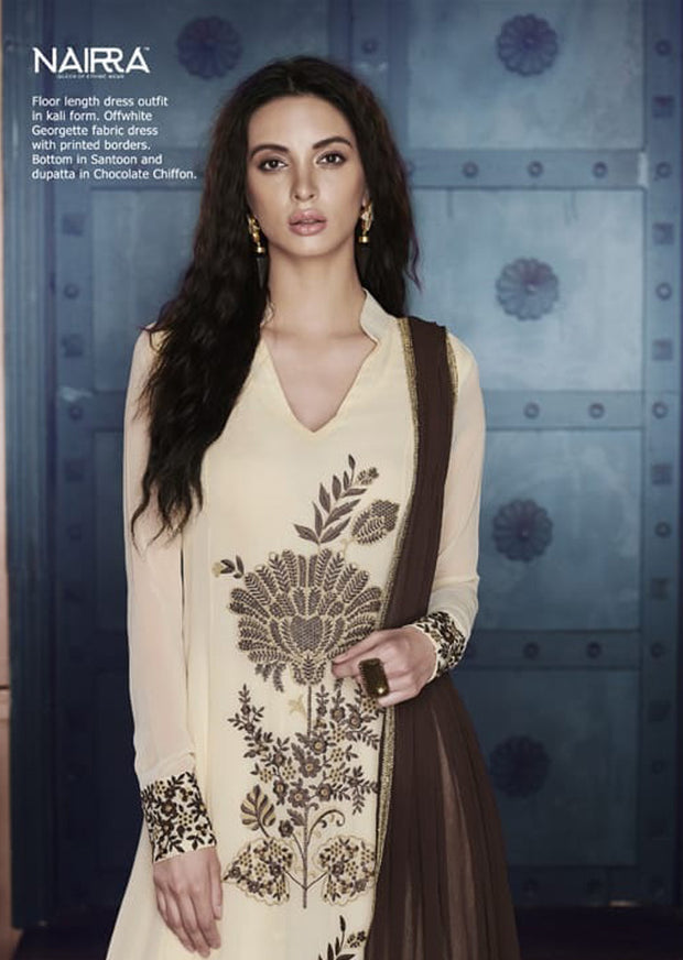 A - Naira By Nakkashi Semi-stitched Collection 2019 - Indian Dress - Memsaab Online