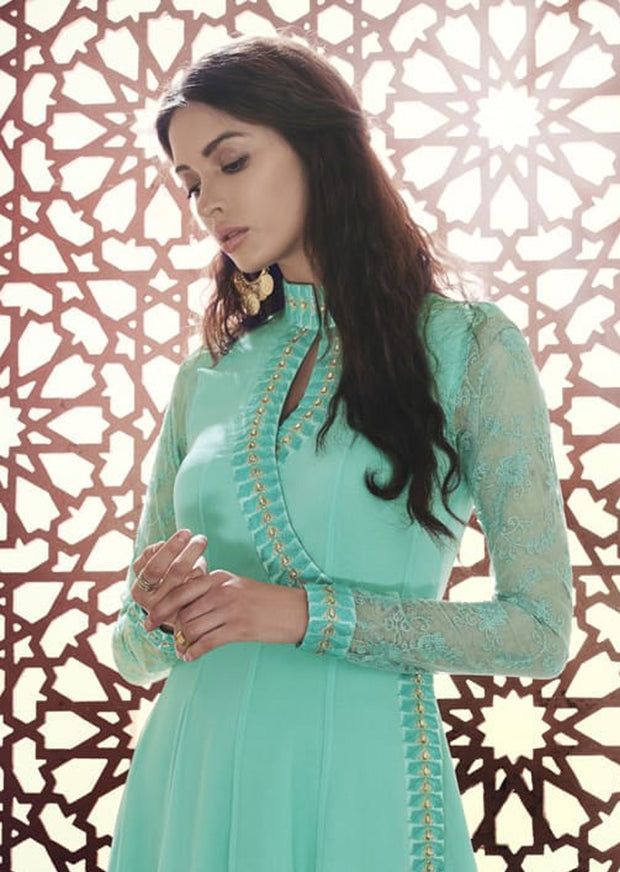 A - Naira By Nakkashi Semi-stitched Collection 2019 - Indian Suit - Memsaab Online