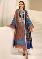M203-010B - Unstitched - Sana Safinaz Muzlin Winter Collection 2020 - Memsaab Online