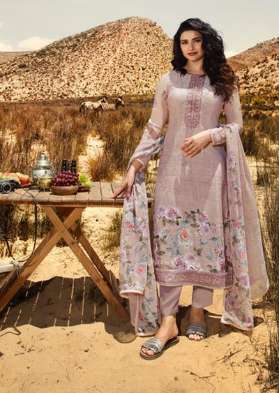 11853 - Unstitched - Silkina Inspired Royal Crepe Vol 28 Collection by Vinay 2020 - Memsaab Online